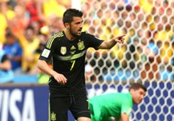 David Villa Australia Spain 2014 World Cup Group B 23062014