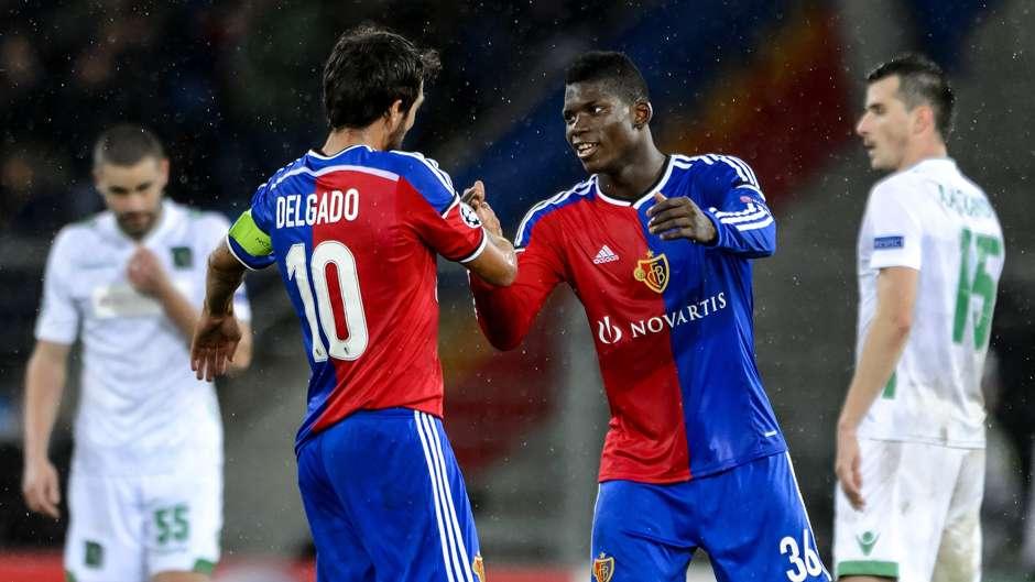 Breel Embolo FC Basel Champions League 04112014