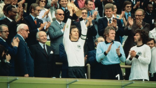 Franz Beckenbauer West Germany World Cup 1974
