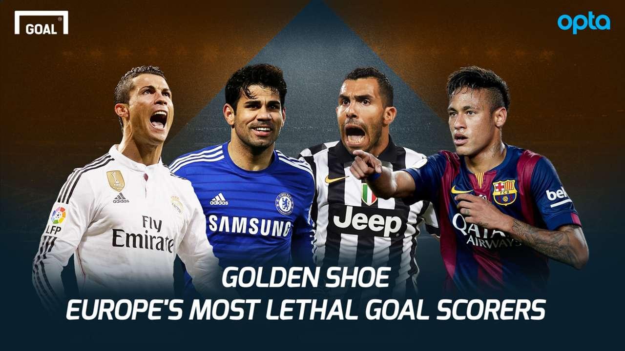 Golden Shoe - Europe's Top Goal Scorers