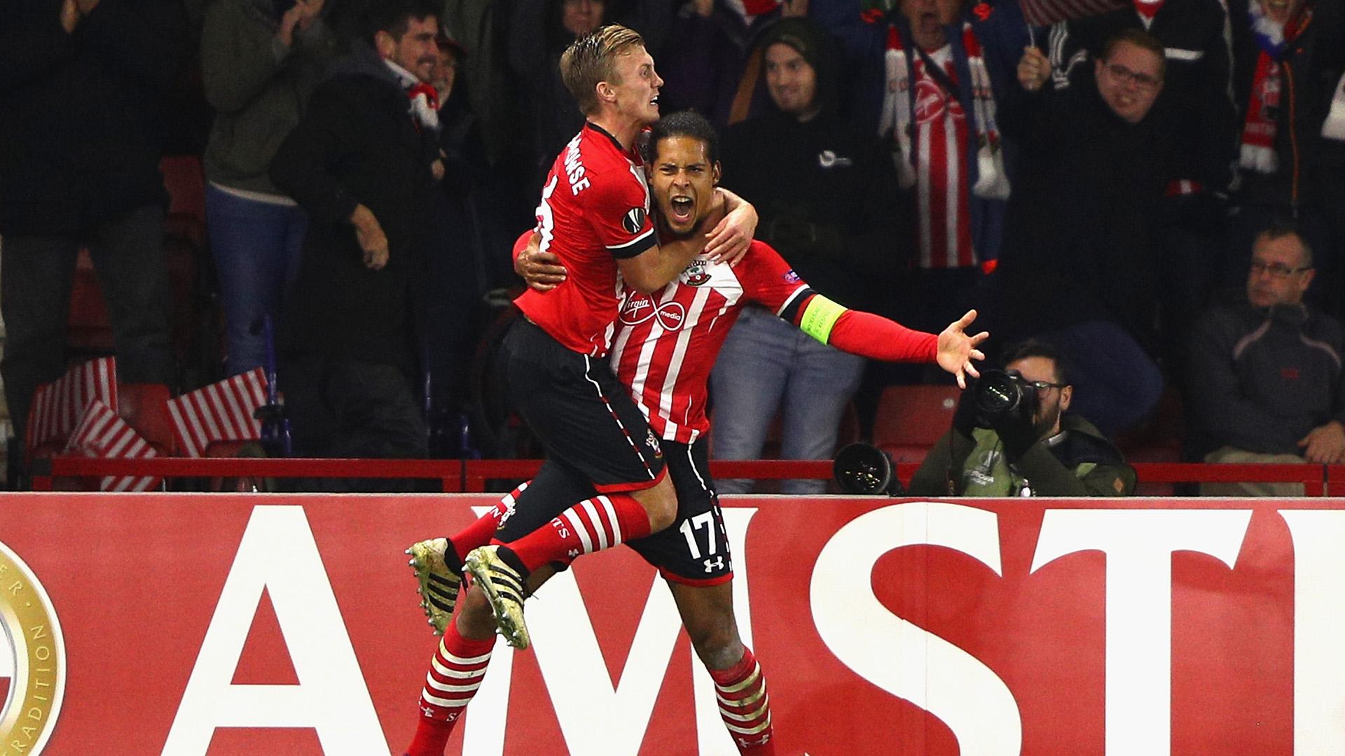 Virgil van Dijk Inter Southampton Europa League