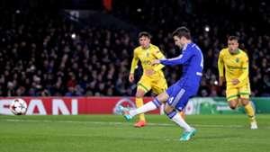 Cesc Fabregas Chelsea Champions League 10122014