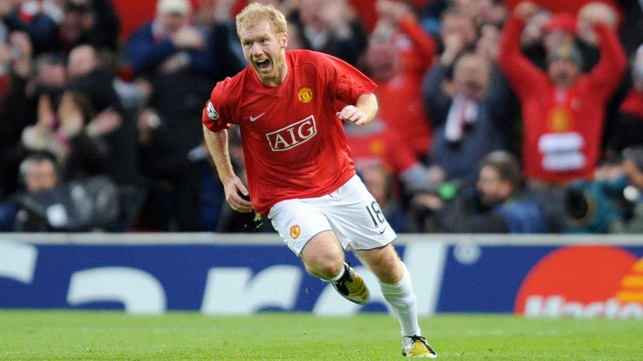 Paul Scholes Manchester United 2009
