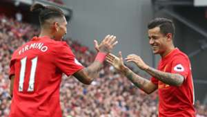 HD Liverpool Phil Coutinho Roberto Firmino