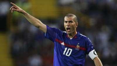 HD Zinedine Zidane, France