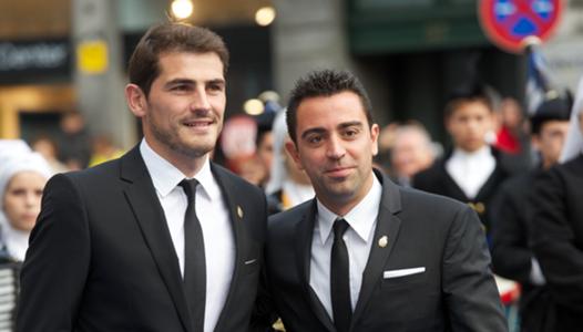 Iker Casillas Xavi