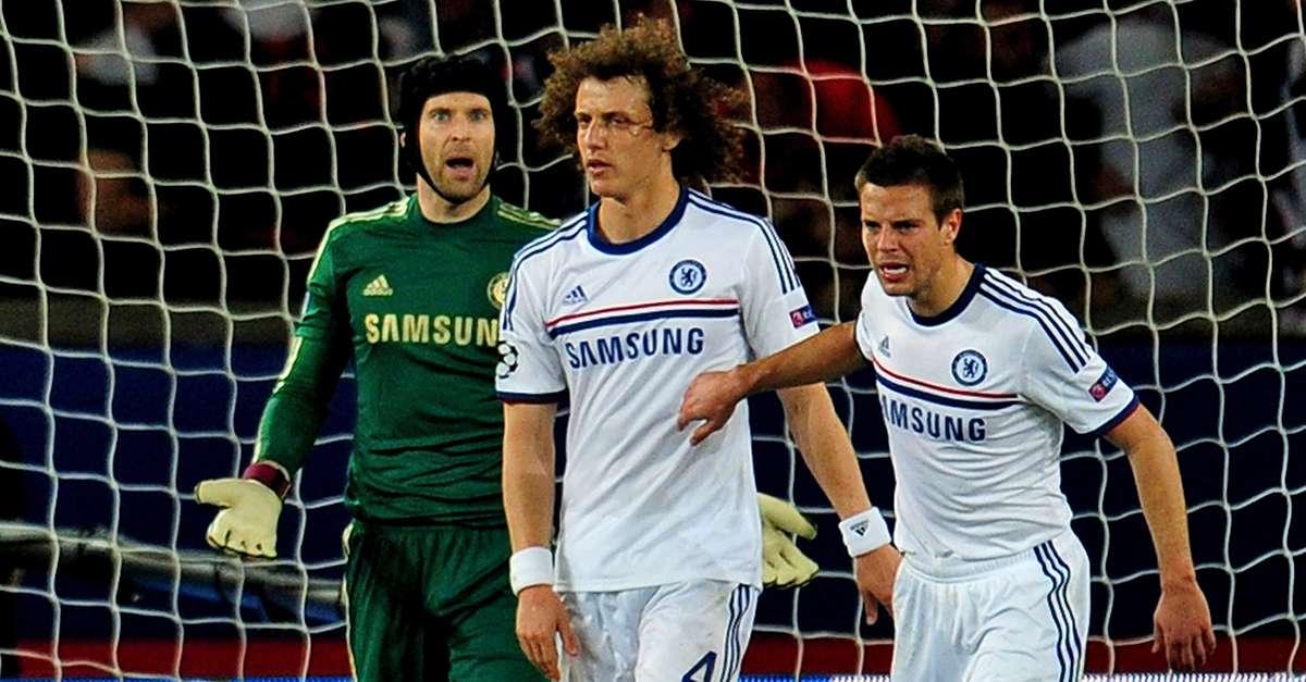 David Luiz Chelsea PSG Champions League 12042015