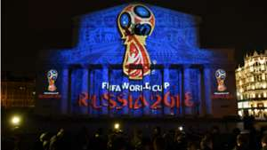 Bolshoi theatre World Cup 2018 emblem unveiling Russia 28102014