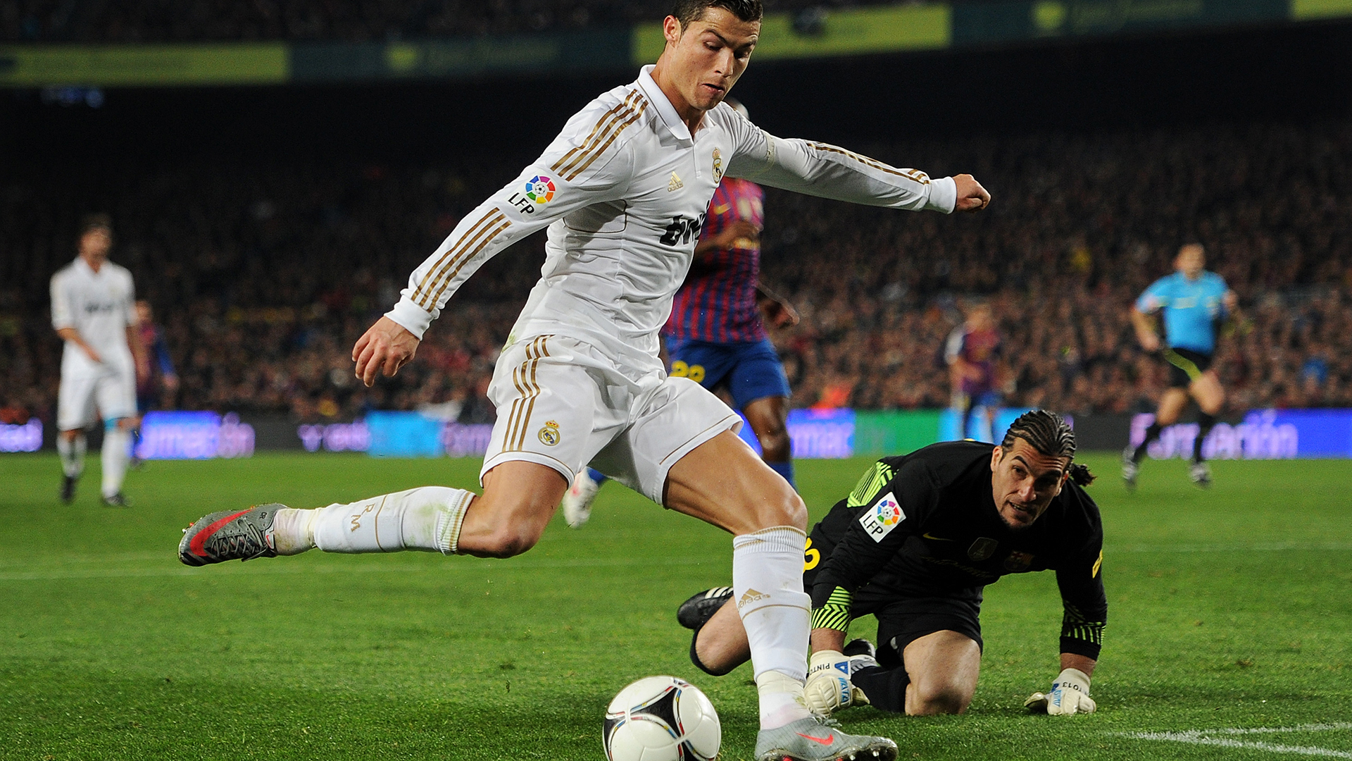 """Zidane: """"A fome de Cristiano Ronaldo pelo sucesso é crucial para o Real Madrid"""""""