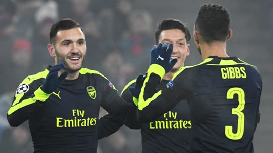 HD Lucas Perez Basel Arsenal