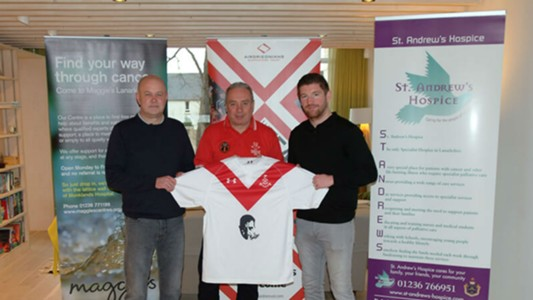 Airdrieonians Jersey Launch 09122016