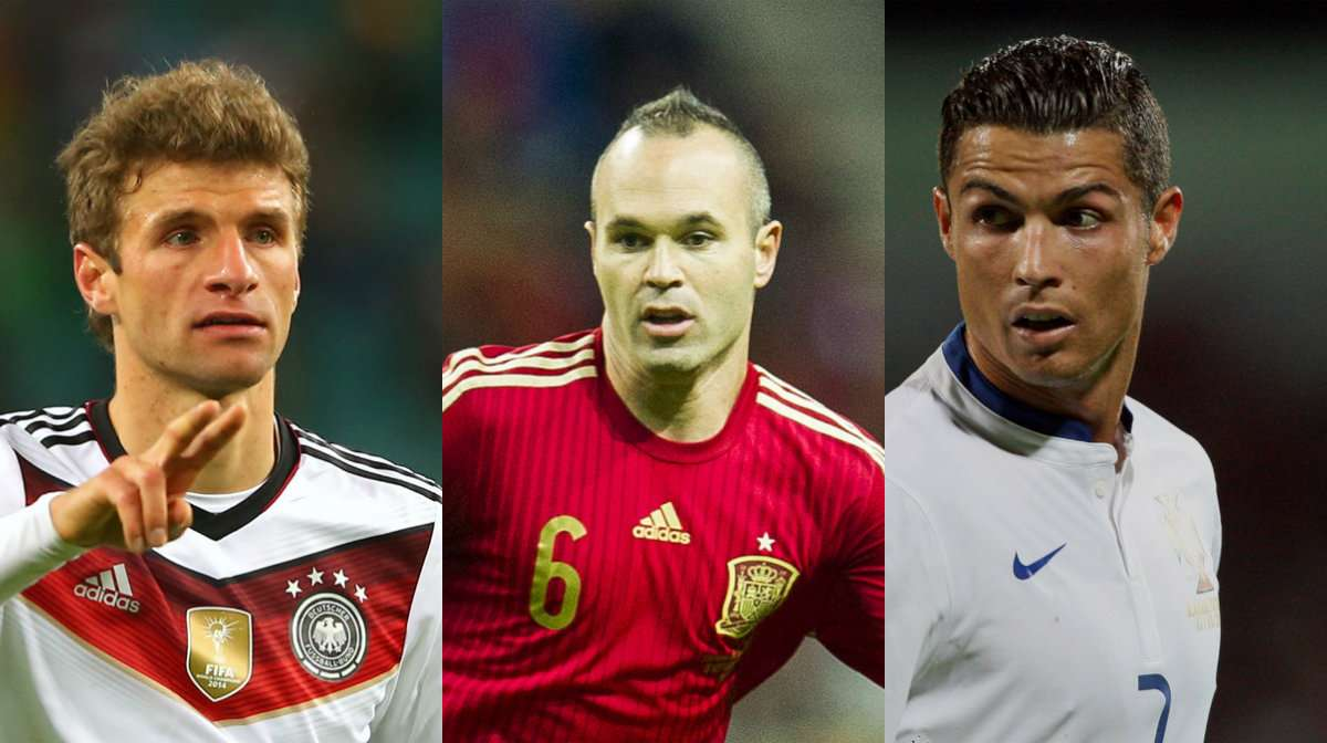 Euro 2016 star player collage