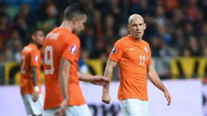 Arjen Robben Netherlands Euro 2016 qualifying 10102014