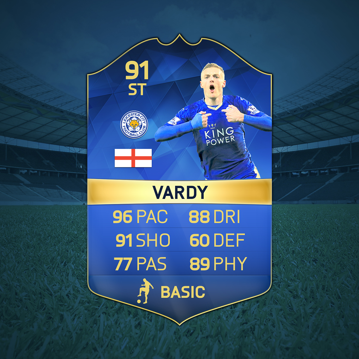 Epl Matches Live On Rcti Indonesia Tv Channel: FIFA UT TOTS Jamie Vardy
