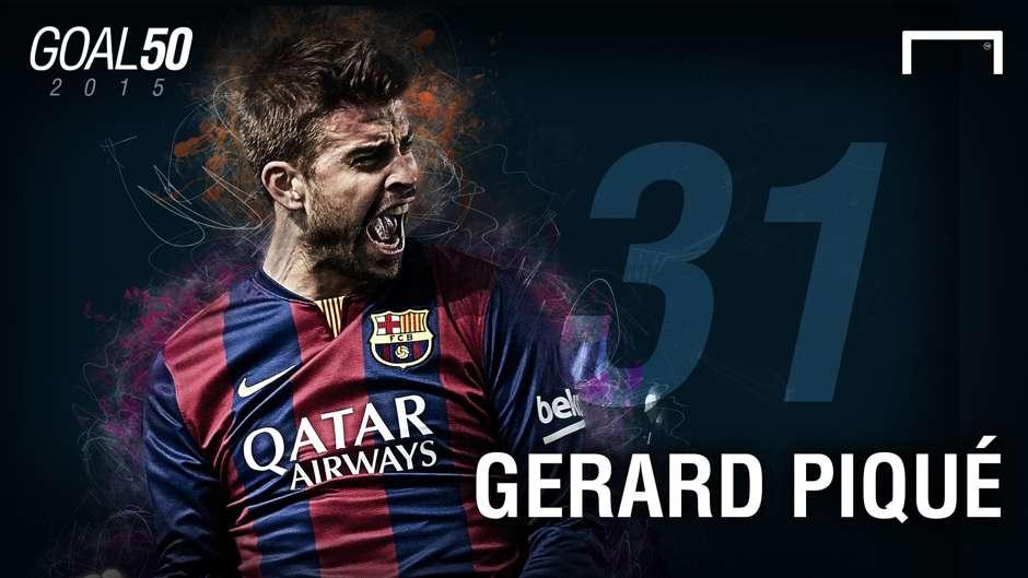 31 Gerard Pique G50