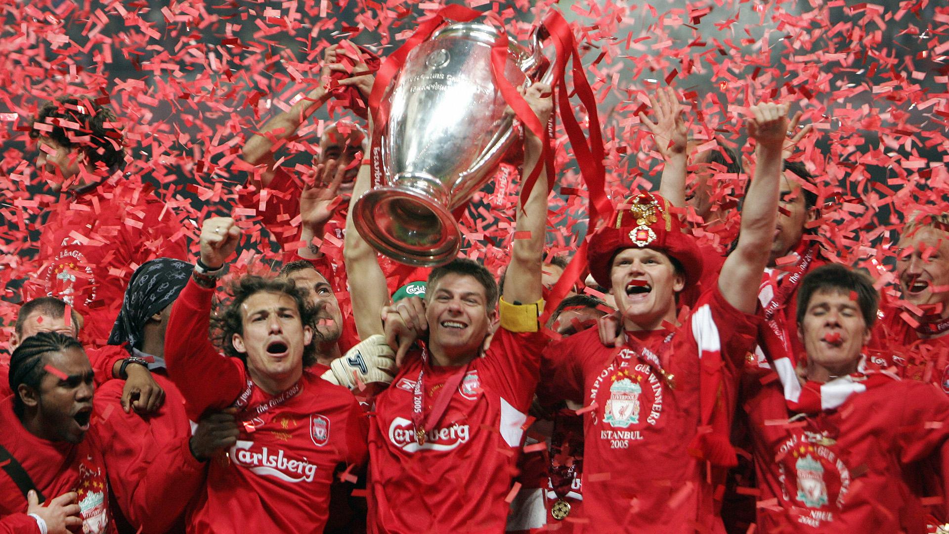 2005 Milan Liverpool Gerrard Goal Com