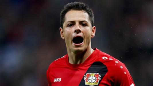 Javier Hernandez Bayer Leverkusen 2016