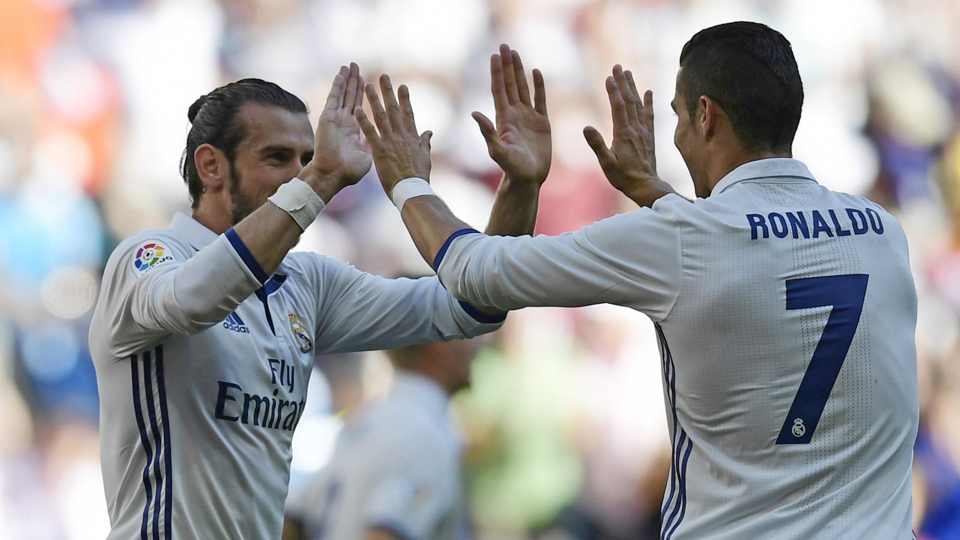 Gareth Bale Cristiano Ronaldo La Liga 2016