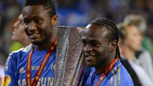 Mikel and Victor Moses