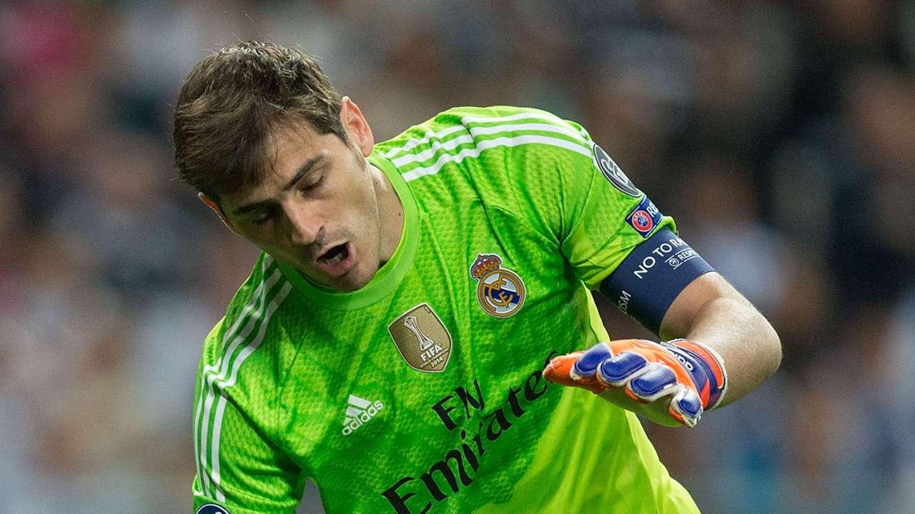 Iker Casillas Real Madrid Champions League 10042015