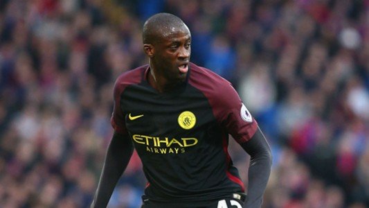 Yaya Toure Manchester City 19112016