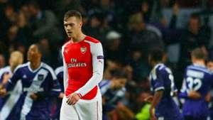 Calum Chambers Arsenal Anderlech Champions League 04112014