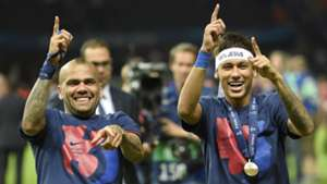 Neymar Barcelona celebrate Juventus Barcelona Champions League final 06062015