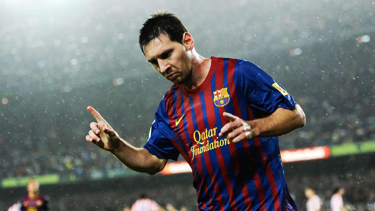 19 Lionel Messi Barcelona Atletico Madrid 2011