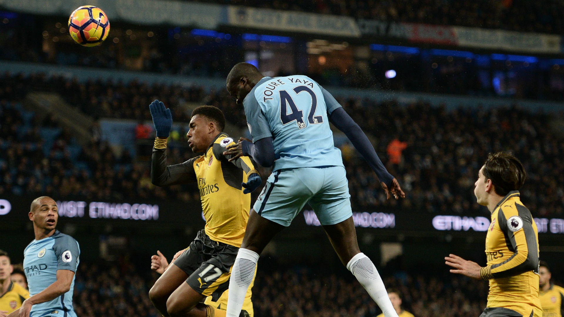Yaya Toure Arsenal Manchester City