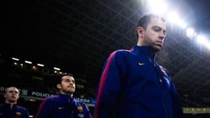 Xavi Sergio Busquets Barcelona La Liga 19012015