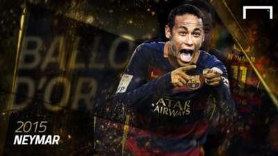 Neymar Ballon d'Or 2015