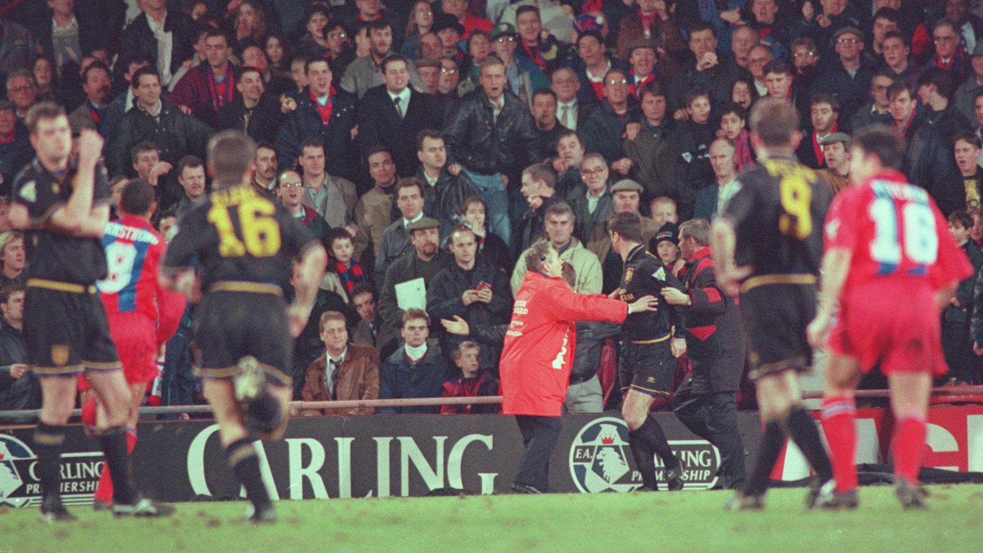 Eric Cantona Manchester United Crystal Palace