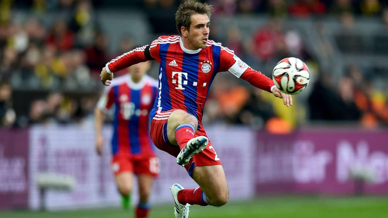 Philipp Lahm Bayern Munich Borussia Dortmund Bundesliga 04042015