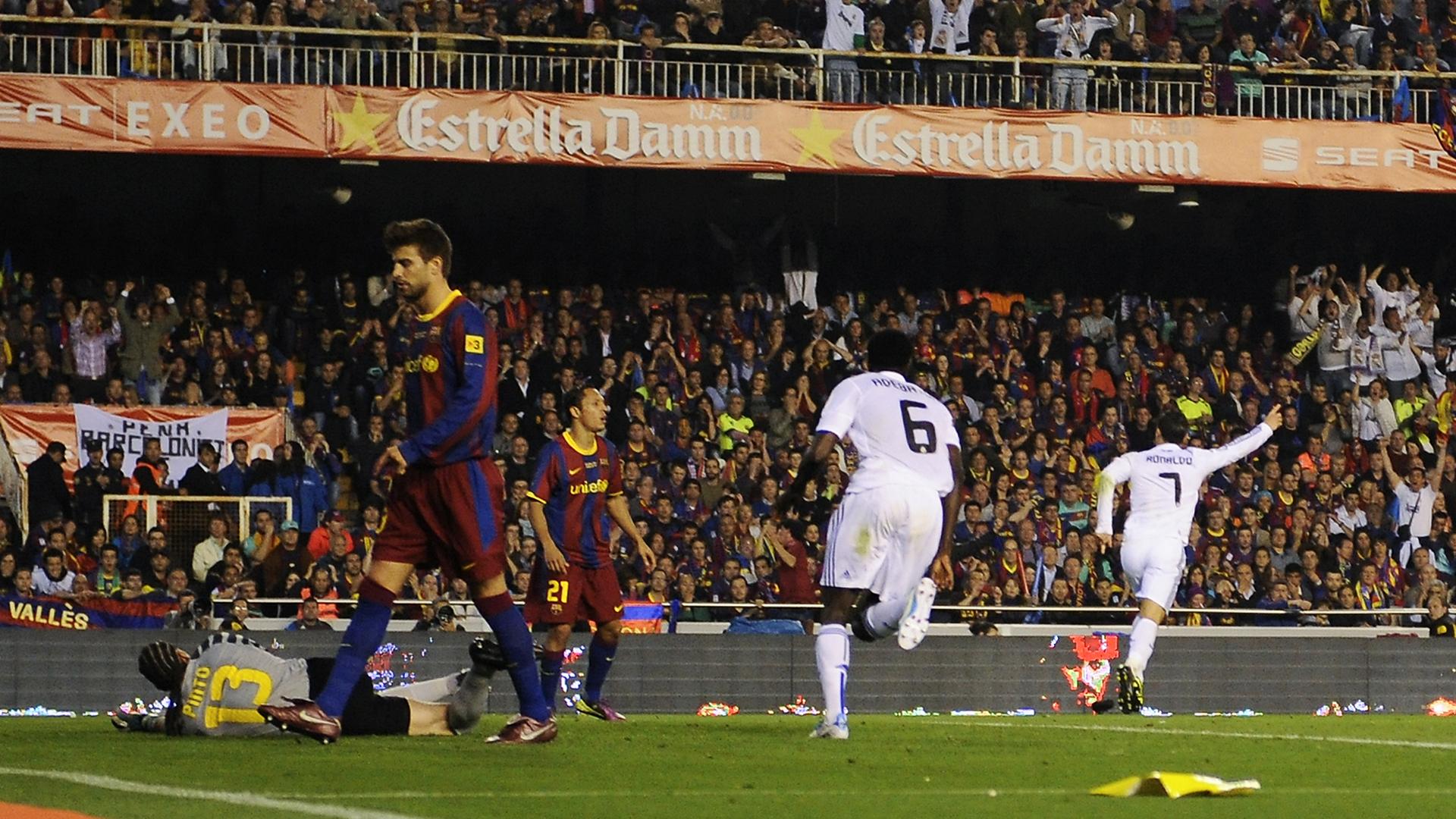 Cristiano Ronaldo Real Madrid Barcelona Copa del Rey 2011