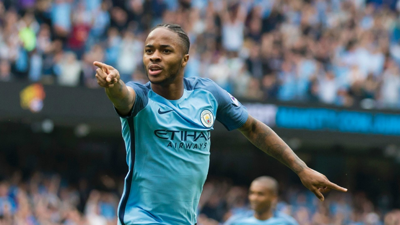 Man City\'s Sterling happy to be in the company of Barcelona star ...
