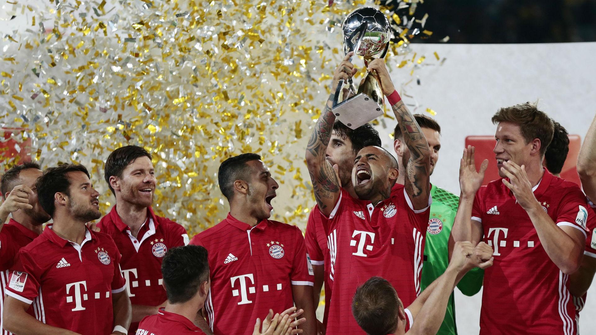 Arturo Vidal Supercup Bayern Munich v Dortmund