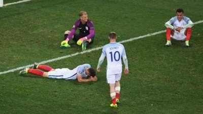 HD Wayyne Rooney Gary Cahill Joe Hart Dele Alli England Euro 2016