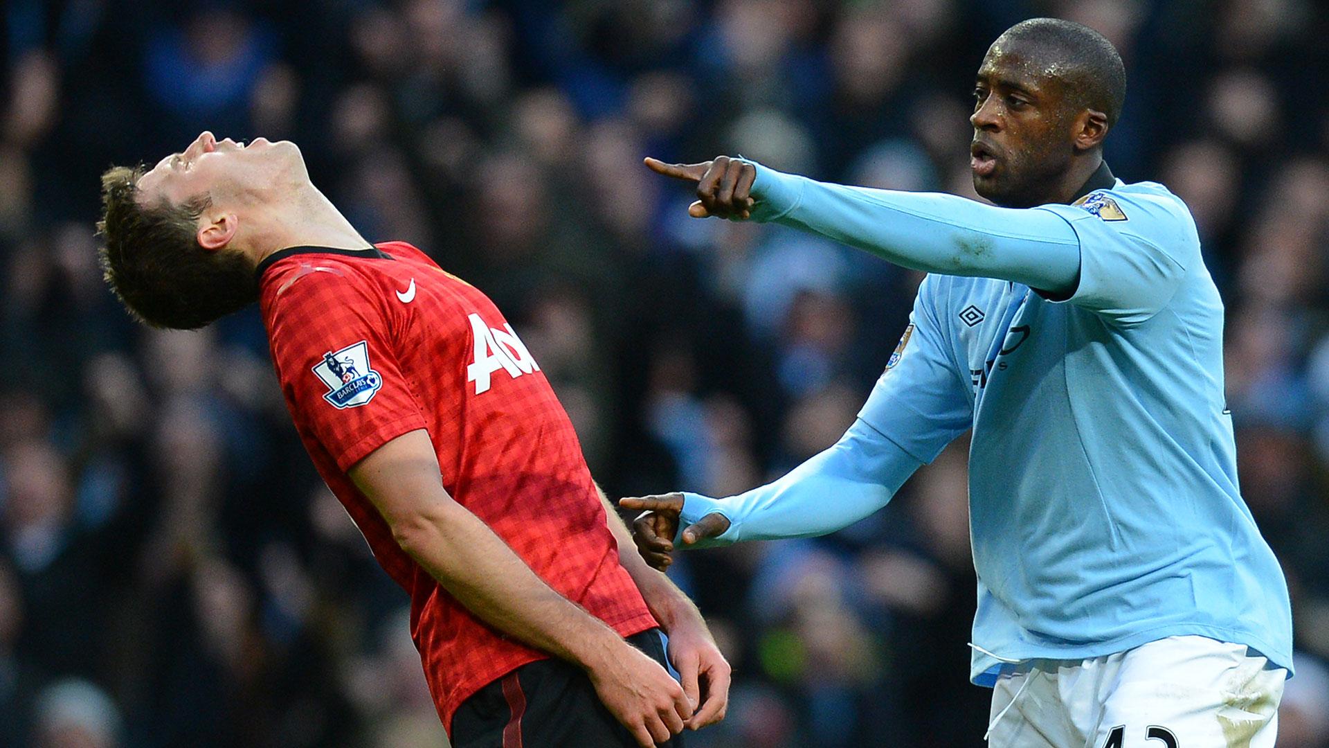Yaya Toure Manchester City Manchester United