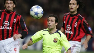 Ludovic Giuly Barcelona Milan Champions League