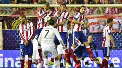 Cristiano Ronaldo Atletico Madrid Real Madrid Champions League 14042015