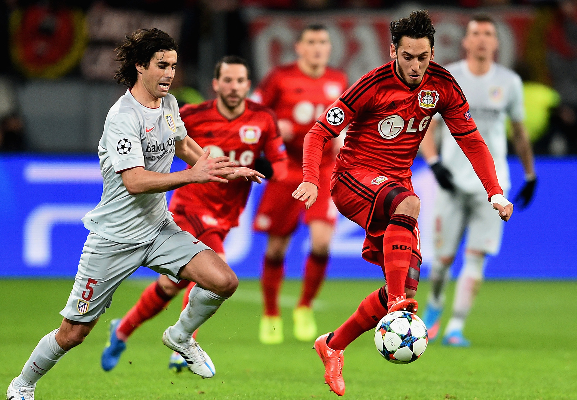 Atletico Madrid Bayer Leverkusen
