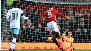 Zlatan Ibrahimovic Manchester United West Ham