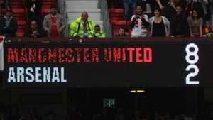 Man Utd 8-2 Arsenal