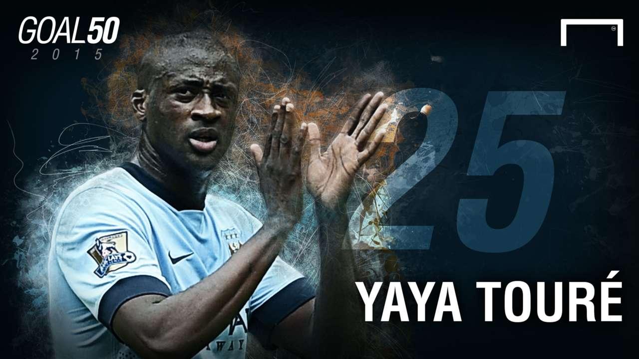 25 Yaya Toure G50
