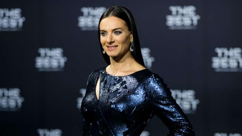 Jelena Issinbajewa The Best FIFA Football Awards 09012017