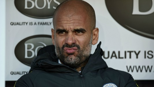 Pep Guardiola Manchester City Burnley