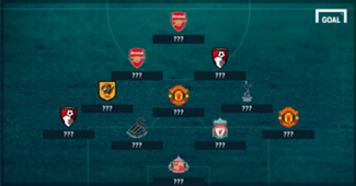 GFX Premier League Team of the Week