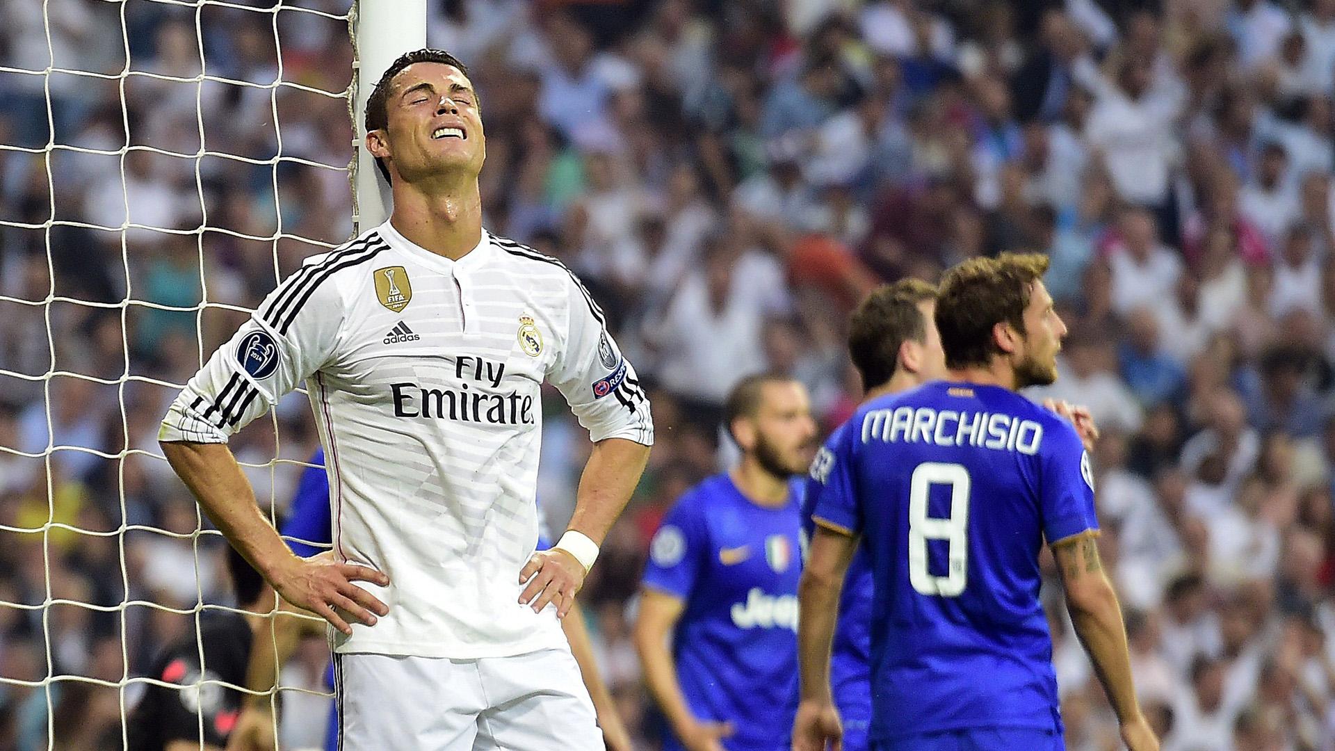 Cristiano Ronaldo Real Madrid Juventus Champions League 13052015