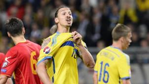 Zlatan Ibrahimovic Sweden Montenegro