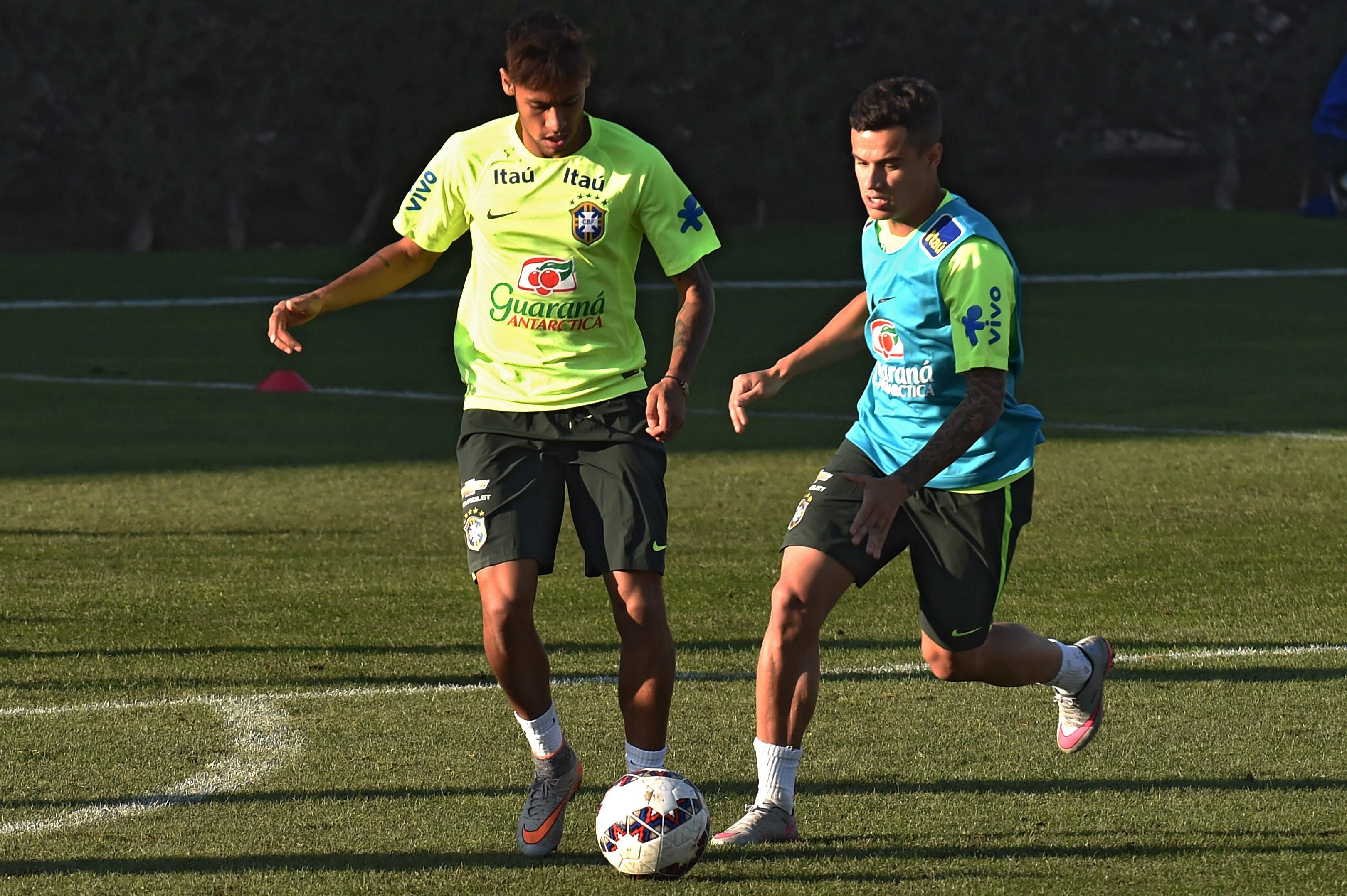 Neymar Coutinho Brazil 20062015